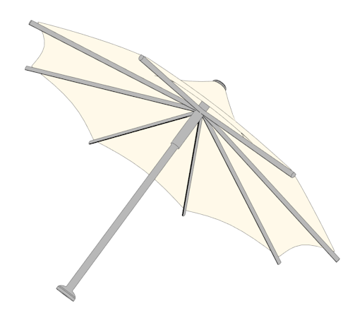 Yepsketch umbrella